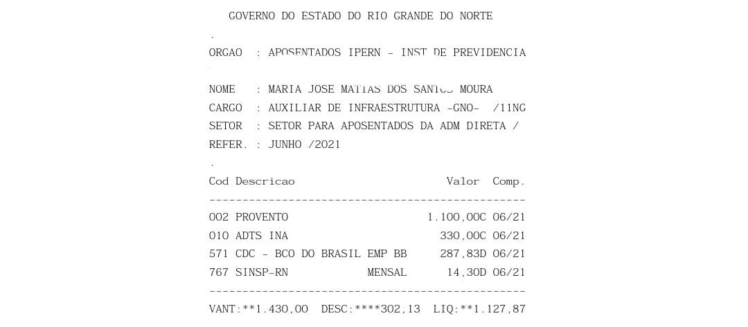 60f04a858fb19 Sindicato acusa Governo do RN de desconto ilegal; servidora teve R$ 582 retirados